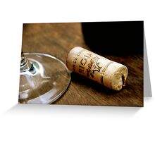 Barcelona wine Greeting Card