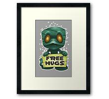 Amumu Free Hugs Framed Print