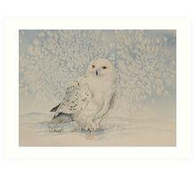 Snowburst Art Print
