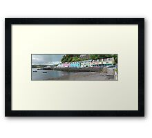 Portree Harbour View Framed Print