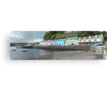 Portree Harbour View Canvas Print