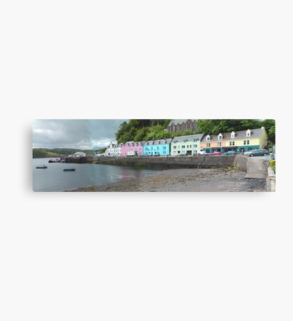 Portree Harbour View Canvas Print
