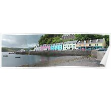 Portree Harbour View Poster