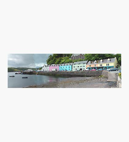 Portree Harbour View Photographic Print