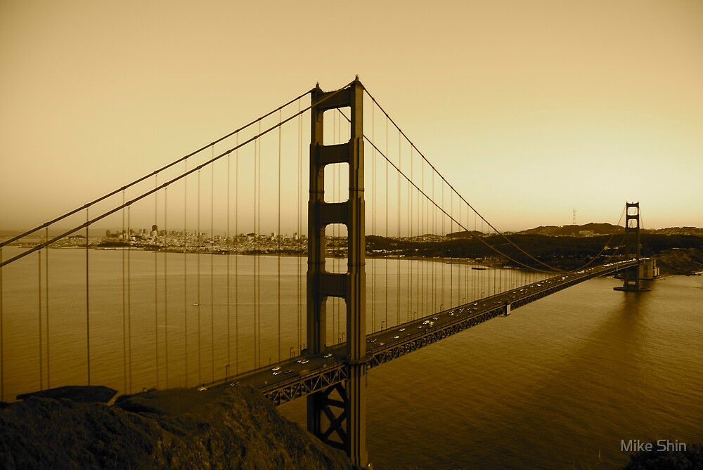 The Golden Gate by Mike Shin