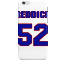 National football player Kevin Reddick jersey 52 iPhone Case/Skin