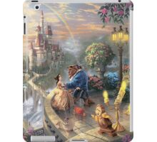 The Beauty and The Beast Disney - All Characters iPad Case/Skin