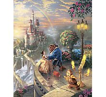 The Beauty and The Beast Disney - All Characters Photographic Print