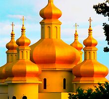 Ukrainian Church by Andriy Portyanko