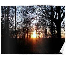 Sunset 1 08-02-08 Poster