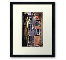 Italian Backyard Framed Print
