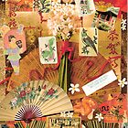 Asian Inspired Collage by dragonflyone