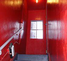 Red Window by Jillian  Shellabarger
