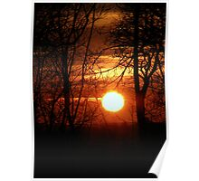 Sunset 2 08-02-08 Poster