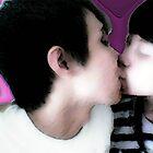 love's kiss  aura by evilheaven