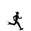 Male runner by Richard Eijkenbroek