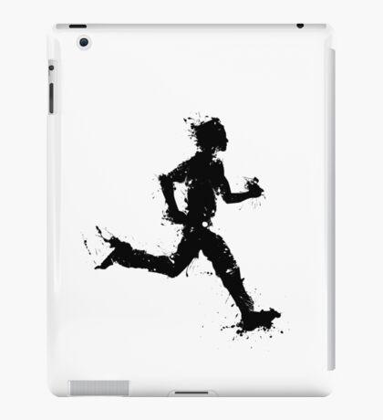 Male runner iPad Case/Skin