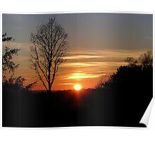 Sunset 3 08-02-08 Poster