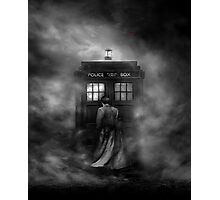 The Doctor and The Mist - Doctor Who Photographic Print