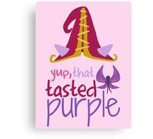 Lulu - Yup, That Tasted Purple! - League of Legends Canvas Print