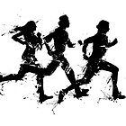 Runners by Richard Eijkenbroek
