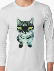 Beach Cat is ready to make waves (Guys) Long Sleeve T-Shirt