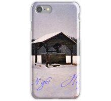 Wellspring Christmas Card iPhone Case/Skin