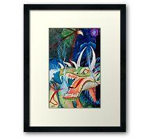 Zoe Dragon Framed Print