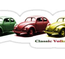 Classic Volkswagon Beetle Sticker