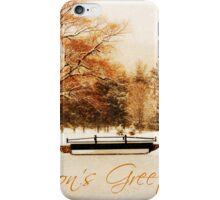 Whispers in Silence II Greeting Card  iPhone Case/Skin