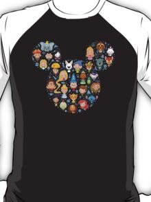 Disney Movies - All Characters T-Shirt