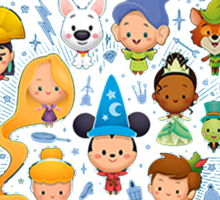 Disney Movies - All Characters Sticker