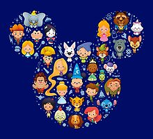 Disney Movies - All Characters by peetamark