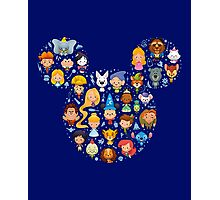 Disney Movies - All Characters Photographic Print