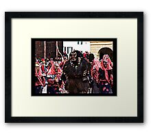 The Devil and his brides I Framed Print
