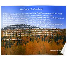 The Ode To Newfoundland Poster