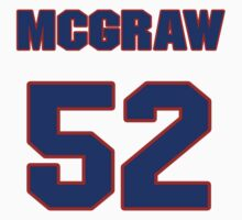 National football player Mike McGraw jersey 52 by imsport