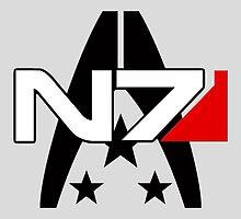 Normandy Alliance Symbol - Mass Effect by peetamark