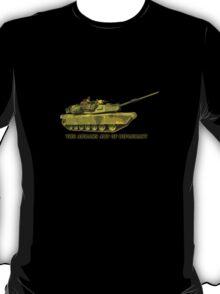 Abrams Tank Art of Diplomacy T-Shirt