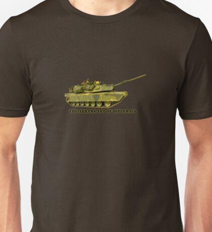 Abrams Tank Art of Diplomacy Unisex T-Shirt