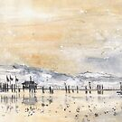 Lake Constance In Winter by Goodaboom