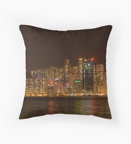 Matchbox Houses Throw Pillow
