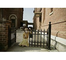gate keeper Photographic Print