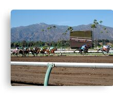 The Races Canvas Print