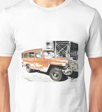 Willys Wagon Unisex T-Shirt