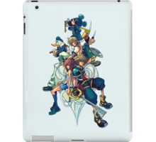 Kingdom Hearts - Sora and All the Others Lovely Portrait iPad Case/Skin