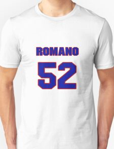 National football player Jim Romano jersey 52 T-Shirt