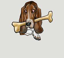 Sad Dog - with Bone Unisex T-Shirt