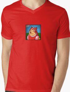 Wow Rush Mens V-Neck T-Shirt