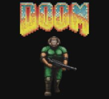 Doom marine by GuitarManArts
